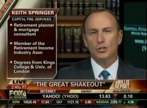 Fox Business News with Keith Springer