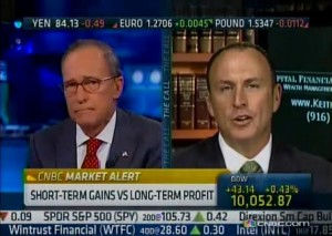 Keith Springer & Larry Kudlow on CNBC