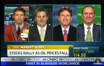 Keith SPringer live on CNBC's energy call