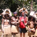 Keith Springer with Spirit Dancers