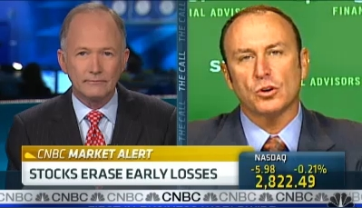 Keith Springer Live on CNBC with Bill Griffeth