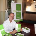Keith Springer author of Facing Goliath at Book Signing Party