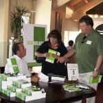 Keith Springer shares new book with friends at Facing Goliath Book Signing Party