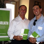 Keith Springer and his new book Facing Goliath with Michael Machino