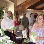 Author Keith Springer at Facing Goliath Book Signing Party