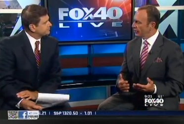 Keith Springer Live on FOX40 7-12-11