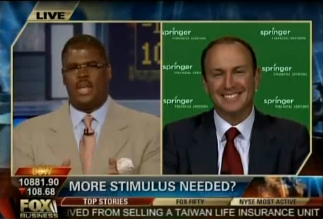 Keith Springer live on Fox Business
