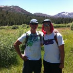 Keith Springer and Josh at Glass Meadow