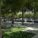 Memorial Plaza -Rendering