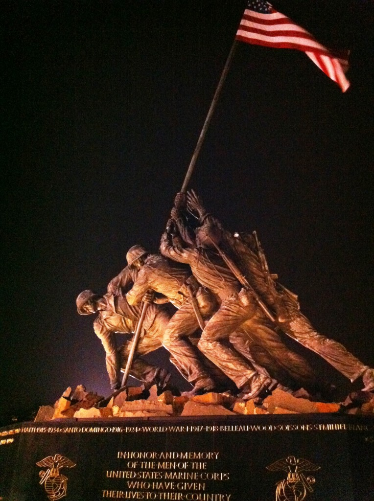 Marines at Iwo Jima