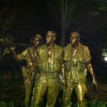 Three Soldiers Statue