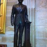Reagan's statue