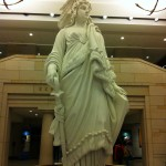 The Statue of Freedom in Emancipation Hall
