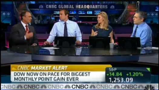 Keith Springer Live on CNBC