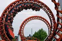 Rollercoaster stock market