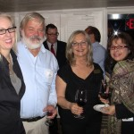 Barbara and Bill Pennock with Cathy DeCarlo and Carmella Mojahedi