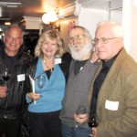 Dan Cattone with Patti and Don Dolan and Clark Gomez
