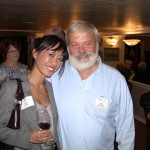 Jane Tam with Bill Pennock