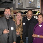 Brian and Lena Finnan with John and Doris Lopez