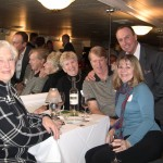 Rosemary Collins with Nancy, Scott and Kris Miller and Keith Springer