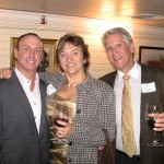 Keith Springer with Terri and Michael O'Connor