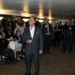 Keith Springer at Client Wine Tasting Event at the Firehouse