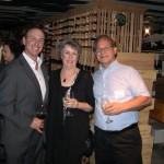 Keith Springer with Cheryl and Robert Iannarelli
