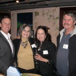 Keith Springer, Elaine Myer and Marcia Munich with Dave Wolden
