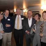 Ellen and David Schaefer, Michael O'Connor, Keith Springer, Jane Tam and Terri O'Connor