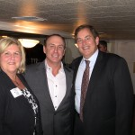 Keith Springer with Donna and Tim Grady