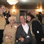 Elaine Myer, Lee Brown and Keith Springer with Carmella Mojahedi