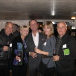 Dan and Joey Cattone, with Keith Springer and Martha and Jim Milliken