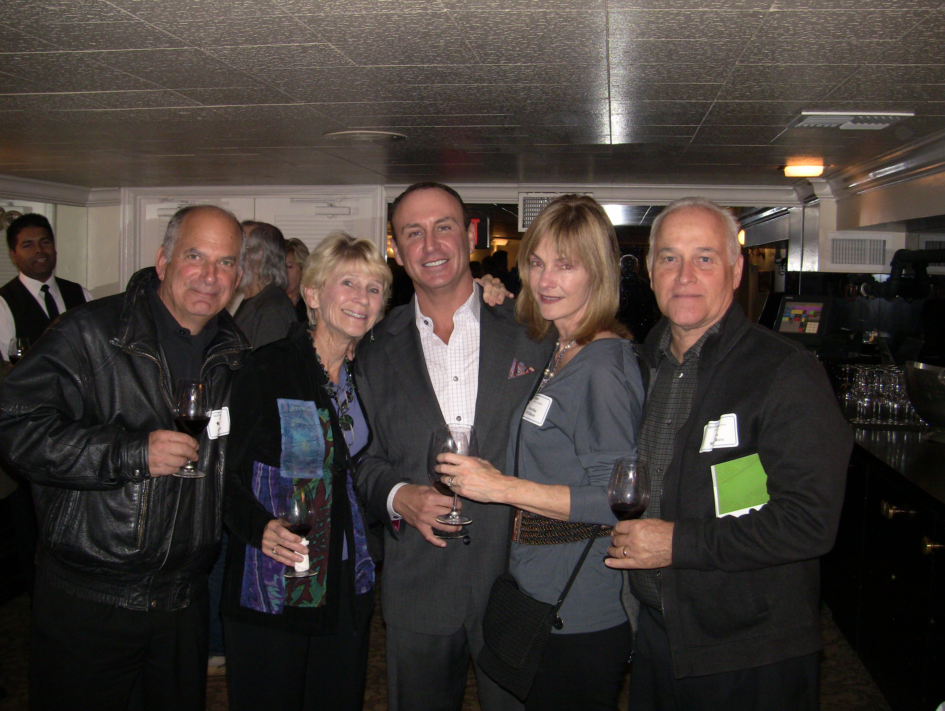 Keith Springer's Client Wine Tasting Event