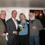Clark Gomez and Keith Springer with Patti and Don Dolan