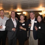 Bill Munich, Keith Springer, Vicki and Bob McBee with Marcia Munich