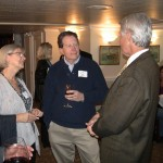 Ellen and David Schaefer with Michael O'Connor