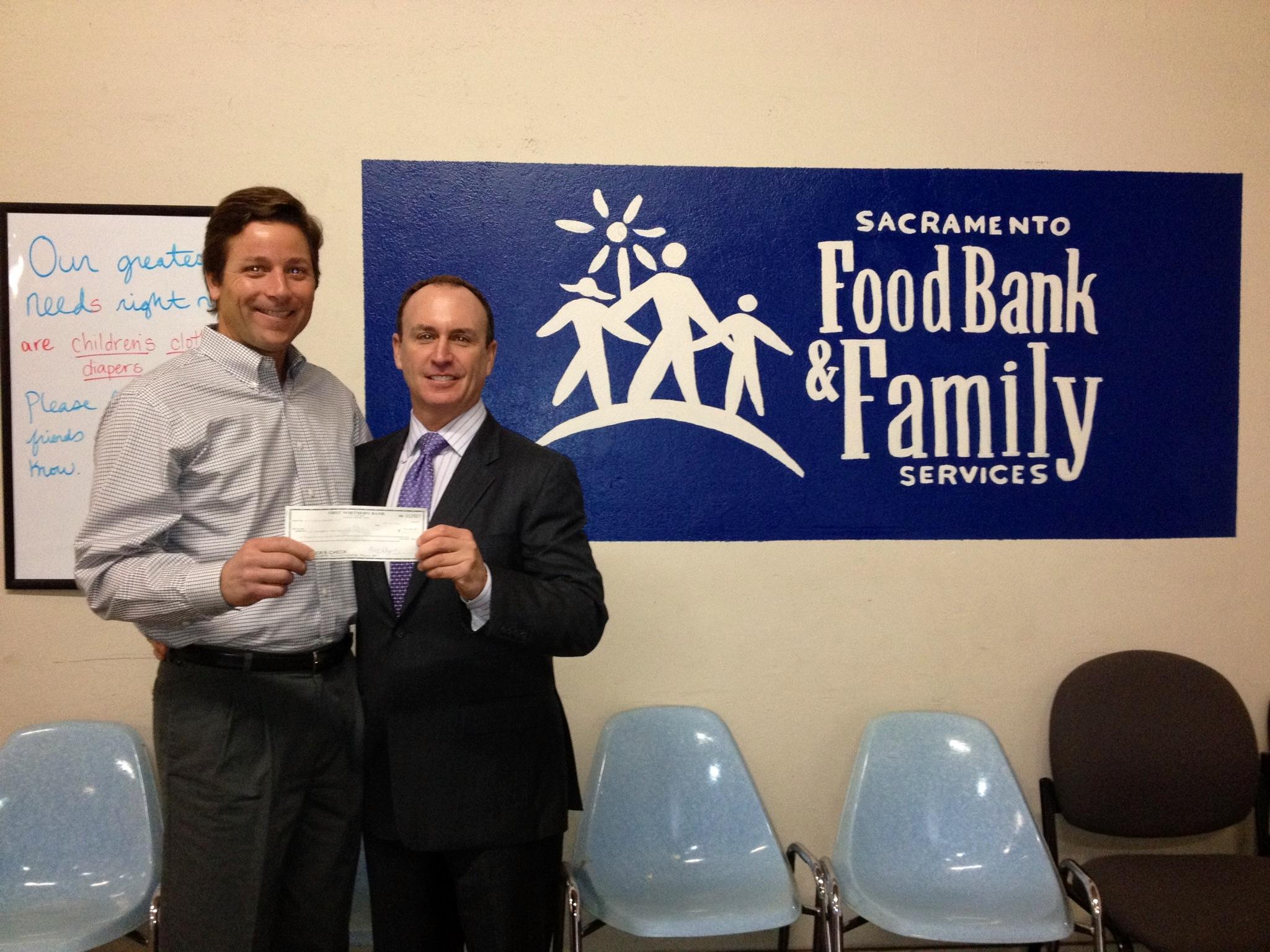 Keith Springer Sacramento Food Bank